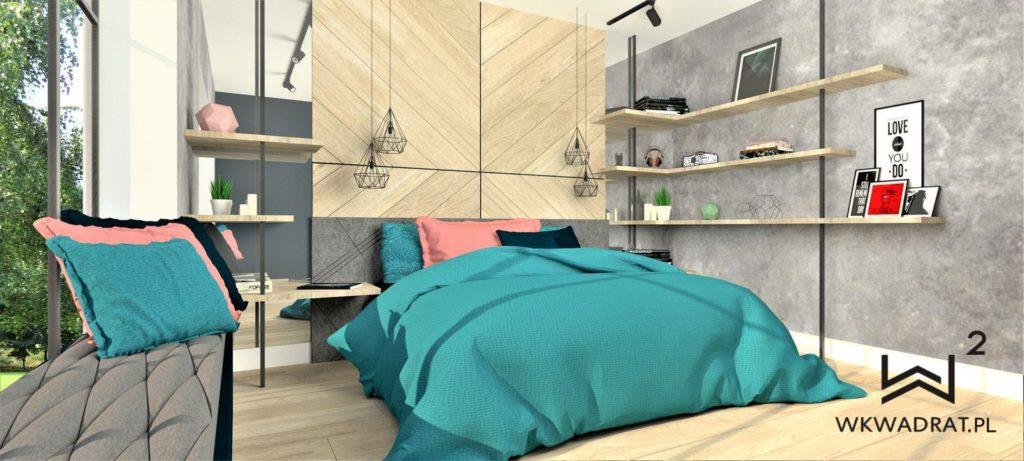 PROJEKTOWANIE I ARANŻACJA - ARCHITEKT WNĘTRZ BRODNICA 1-projekt-aranzacji-wnetrz-sypialni-zaglowek-frezowane-panele-pracownia-wkwadrat-pl