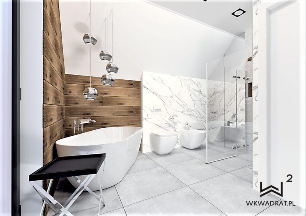 PROJEKTOWANIE I ARANŻACJA - ARCHITEKT WNĘTRZ BRODNICA 1-projekt-lazienki-slawno-calacatta-drewno-aranzacja-lazienki-glamour-pracownia-wkwadrat-pl