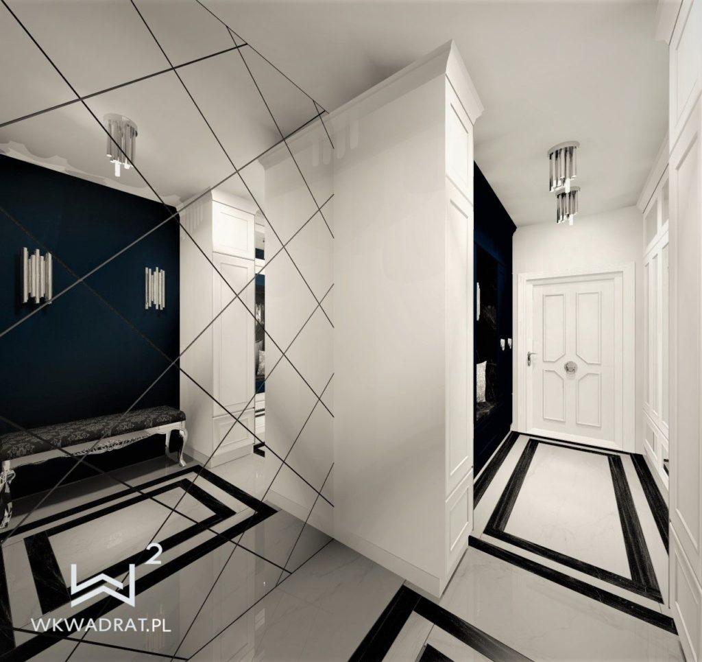PROJEKTOWANIE I ARANŻACJA - ARCHITEKT WNĘTRZ BRODNICA projekt-aranzacji-hol-niebieski-apartamentu-5-projektowanie-wnętrz-pracownia-wkwadrat-1