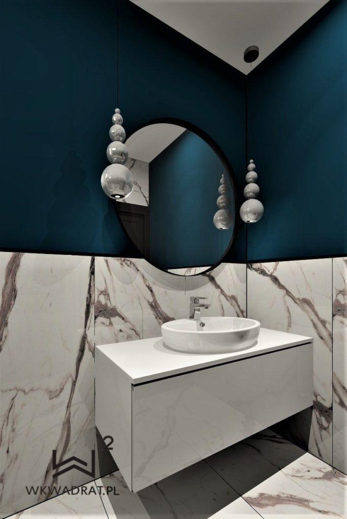 PROJEKTOWANIE I ARANŻACJA - ARCHITEKT WNĘTRZ BRODNICA - projekt wnętrz łazienki
